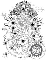 Small Picture Trippy Nature Coloring Pages Coloring Coloring Pages