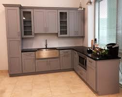 Shaker Gray Skiby Cabinets