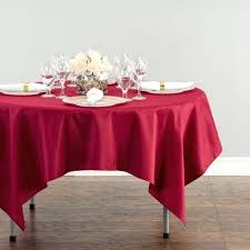 red table cloth in square polyester tablecloth red plastic tablecloth round