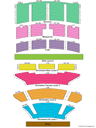 fox theater oakland seating chart