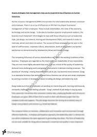 hsc business studies essay on human resources strategies year  hsc business studies essay on human resources strategies