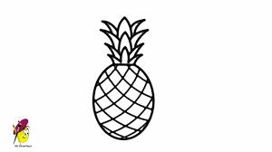 pineapple drawing. pineapple drawing r