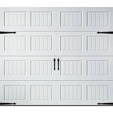 single garage doors with windows. $432 Pella Carriage House Series 96-in X 84-in White Single Garage Door Doors With Windows O