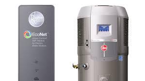 Gas Heat Pump Water Heater First Look Rheem Hybrid Heat Pump Water Heater With Econet At