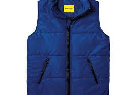 Мужской утепленный жилет Simple Vest Navy, купить ...