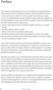 Camh Suicide Prevention And Assessment Handbook Pdf Free