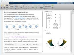 solve systems of linear equations derive the symbolic stationary distribution of a trivial markov chain