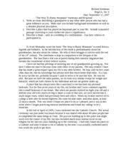 the way to rainy mountain essay lonna blake iws collin edu the journey of tai me · the way to rainy mountain essay analysis
