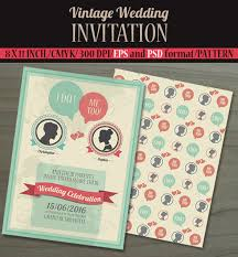 21 vintage wedding invitation free psd format download free Wedding Invitations Templates For Illustrator make your wedding invitation card a perfect blend of vintage and modern with the help of this vintage wedding invitation card template that has a simple but wedding invitation templates for adobe illustrator