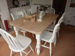 farmhouse dining table and 6 chairs tables