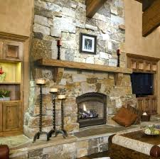 rustic stone fireplace mantels with mantle cultured room scene a faux86 mantels