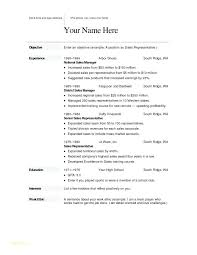 Resume Templates Word Free Download New Resume Template Word Free Download Hospitality Templates With It