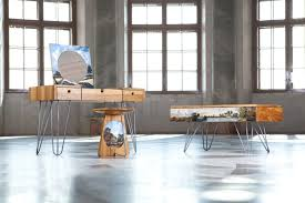 modern steel furniture. Wooden And Steel Furniture With Baroque-inspired Paintings Upon Their Surface Is The Latest Project By Prague\u0027s UMPRUM Product Design Graduate Roman Kvita Modern R