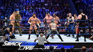 wwe world title no contender s six pack qualifying battle royal 1 contender s six pack qualifying battle royal smackdown live 26 2016