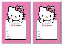 hello kitty birthday invitations birthday printable hello kitty birthday invitations