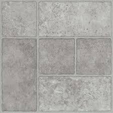 trafficmaster bodden bay 12 in x 12 in grey l and stick vinyl tile
