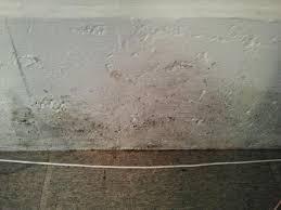 dirt coming up between floor and