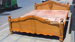 Indian Double Bed Designs With Box Wooden Bed King And Queen Size Design Beds Available In Popular Furnitures Pakkah Indians