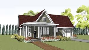 simple yet unique cottage house plan with wrap around porch hudson cottage you