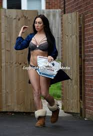 EXCLUSIVE Laura Alicia Summers caught out in her underwear putting the bins  out.' | Nick york