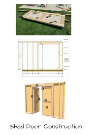 Double Shed Door Design Shed Doors And Easy Ways To Build Them In 2019 Shed Doors