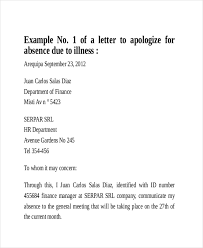 Absence Letter For School Sample Example Of An Excuse Letter For Being Absent In School Sample Excuse