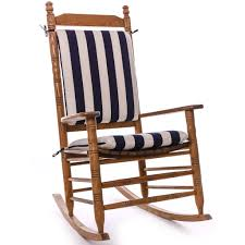 Furniture Solid Navy Rocking Chair Cushion Sets For Furniture