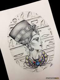 эскизы тату нефертити клуб татуировки фото тату значения эскизы