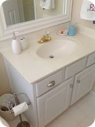 Bathrooms Cabinets : Painting Bathroom Cabinets Also Best White ...