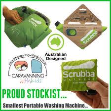 Travel Washing Machine Scrubba Wash Bag Travel Washing Machine Caravanning With Kids