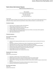 Public Administrator Sample Resume Custom Public Administration Resume Resume Sample