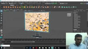 maya tutorial 18 in urdu hindi texturing an lcd in maya 2016
