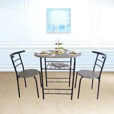 compact dining furniture. WestWood-Compact-Dining-Table-Breakfast-Bar-2-Chair- Compact Dining Furniture 6
