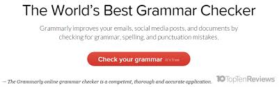 best online grammar and punctuation checker tools correctors  number 1 grammarly grammar checker a competent thorough and accurate grammar checker