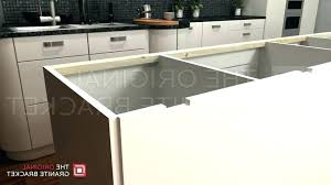 granite countertop supports granite support photo of island support bracket by the original granite bracket