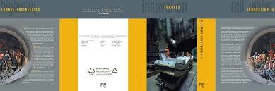 innovation in tunnel engineering tunnels - Parsons Brinckerhoff