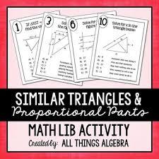 similar triangles and proportional parts math lib similar triangles and proportional parts math lib