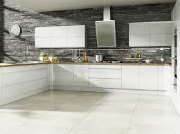 white gloss kitchen no handles
