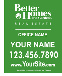Small Picture Better Homes Garden Signs Banners Custom Design Online 939 Sign
