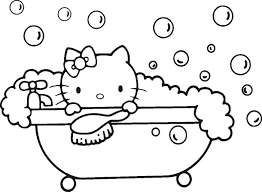 Small Picture 343 best HELLO KITTYCOLOR PAGES images on Pinterest Hello