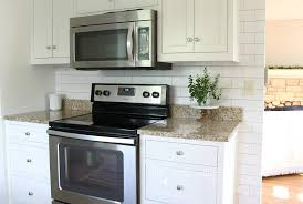 make a white subway tile temporary backsplash with removable wallpaper follow this tutorial for a