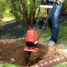 electric tiller home depot small tillers for gardening mantis electric tiller digs deep and fast small electric tiller home depot