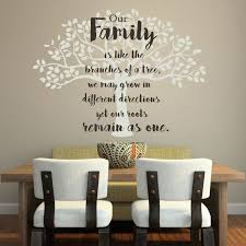 family tree wall decal vinyl marvelous family tree vinyl wall decal