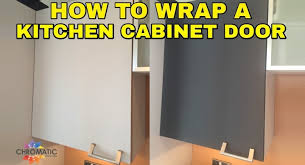 Plasti Dip Kitchen Cabinets How To Wrap A Kitchen Cabinet Door Diy Vinyl Wrapping Tutorial