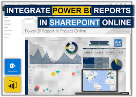 Integrate Power Bi Reports In Sharepoint Online Ppm4all
