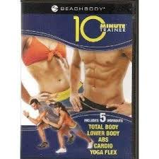 10 minute trainer 5 workouts dvd tony horton