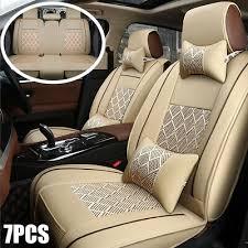 rear split zip type car seats covers