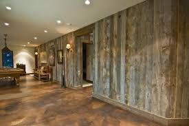 Basement Concrete Wall Ideas
