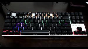 <b>Metoo</b> Zero 87 Keys <b>Mechanical Keyboard</b> Review - YouTube