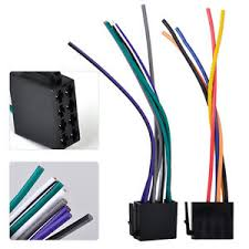 universal iso wire harness female adapter connector cable for car universal wiring harness for car stereos image is loading universal iso wire harness female adapter connector cable